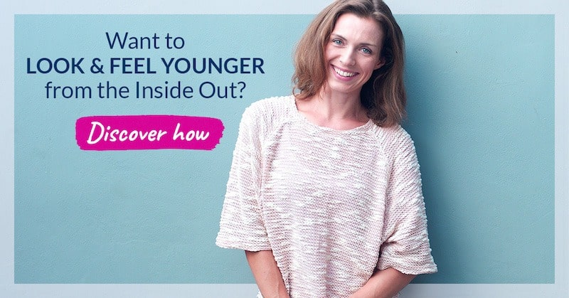 Want to look & feel younger from the inside out. Banner to Organixx's Collagens sales page