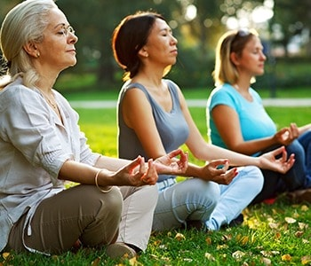 Meditation and exercise help to relieve chronic stress