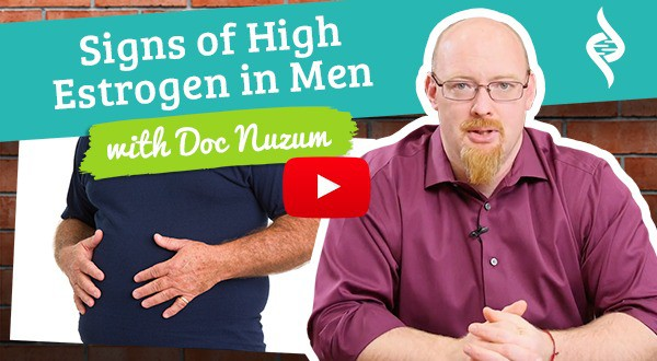 Signs of high estrogen in men