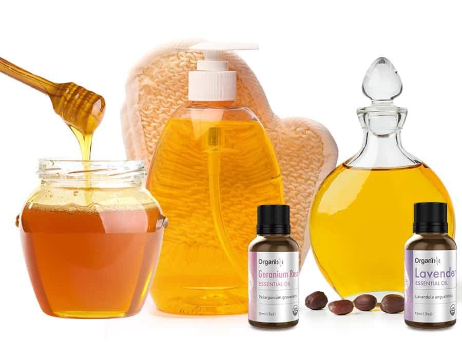 Essential Oil Body Wash Recipe