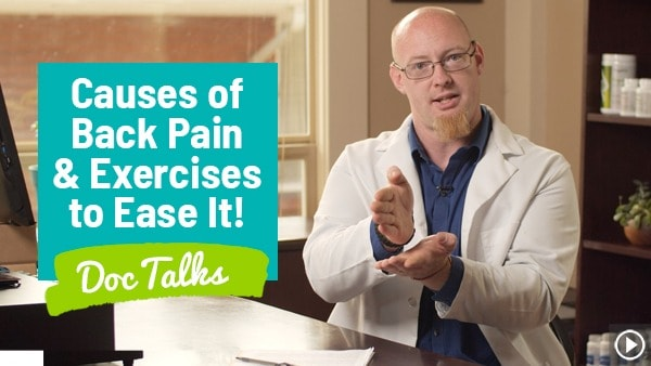 "What Causes a Sore Lower Back? (+ Best Back Exercises) ""Doc Talks"""