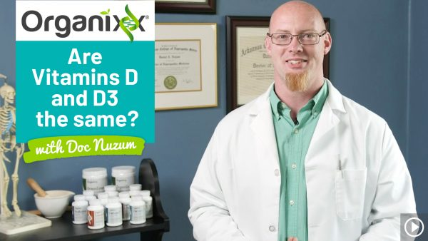 Are Vitamin D and Vitamin D3 the same thing? Doc Talks