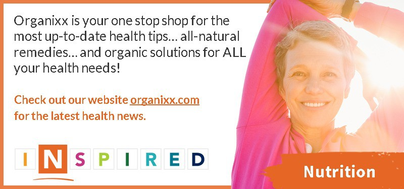 banner with link to Organixx supplements home page