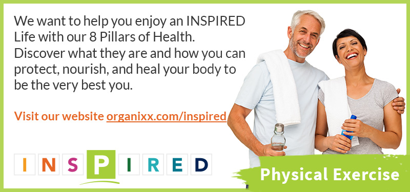 Stay Active, stay healthy with Organixx