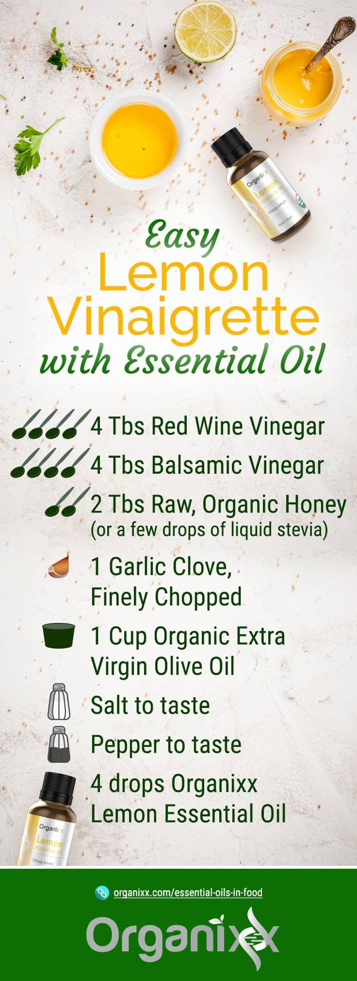 Lemon Vinaigrette Recepie