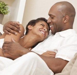 Loving couple healthy libido