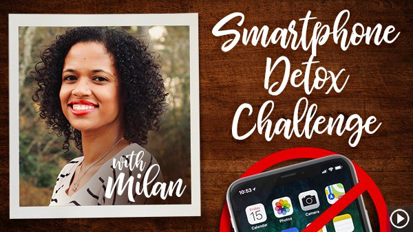 "Milan's 21 Day Smartphone Detox Challenge ""Journey to Wellness"""