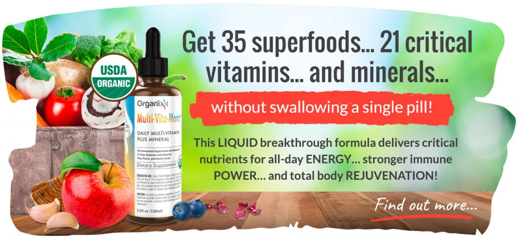 Liquid-Multi-Vita-Maxx with 35 superfoods and 21 critical vitamins