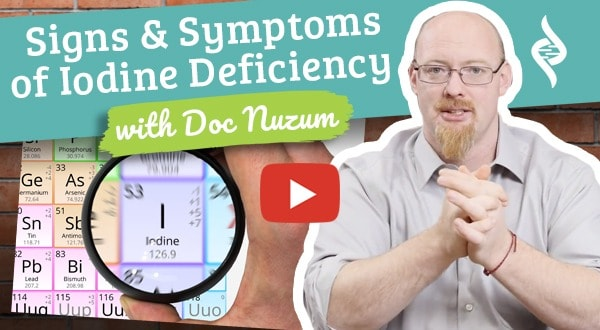 Signs and Symptoms of Iodine Deficiency