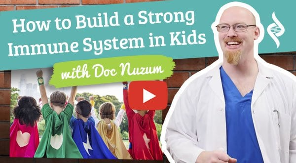 how to build toddlers immune system