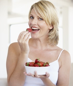 Strawberries are a prebiotic food