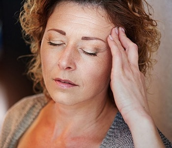 Persistent headaches can be a sign of estrogen deficiency