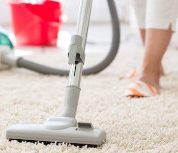 vacuum with essential oils