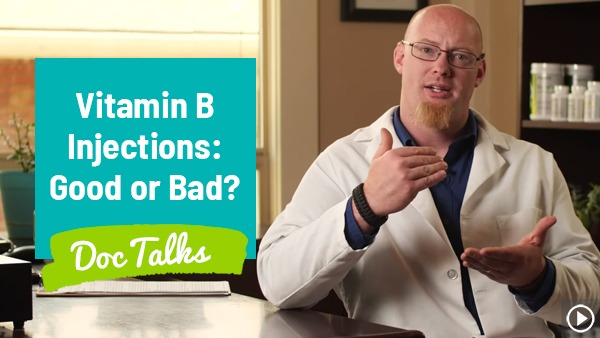 "Vitamin B12 Injections: Good or Bad? ""Doc Talks"" With Dr. Nuzum"