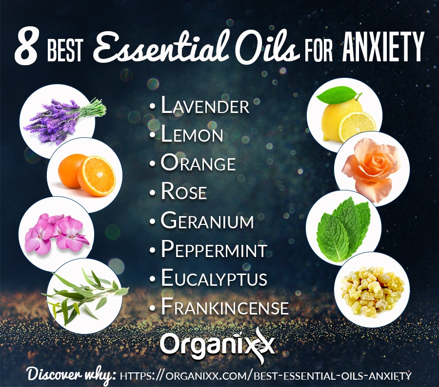 The 8 Best Essential Oils For Anxiety Stress Relief
