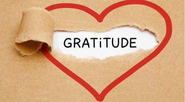 Gratitude Lies in the Heart
