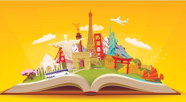 City Enfolds in the Pages of a Book