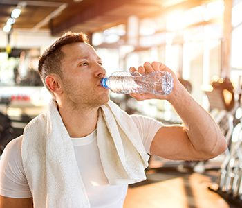 BPA found in many plastic water bottles harms a man's hormone levels
