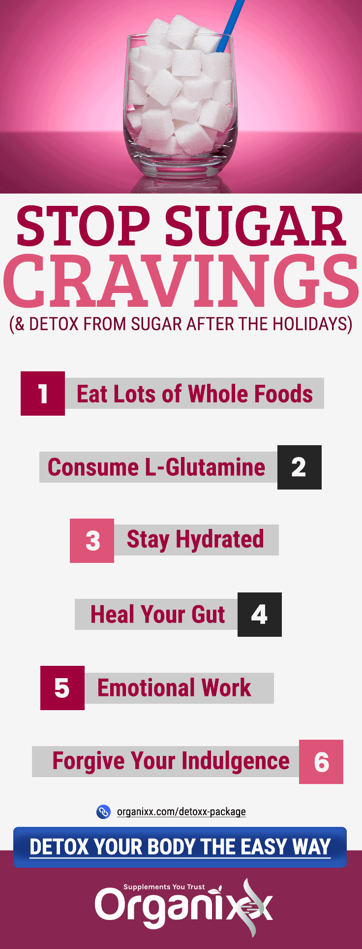 Steps to Stop Sugar Cravings