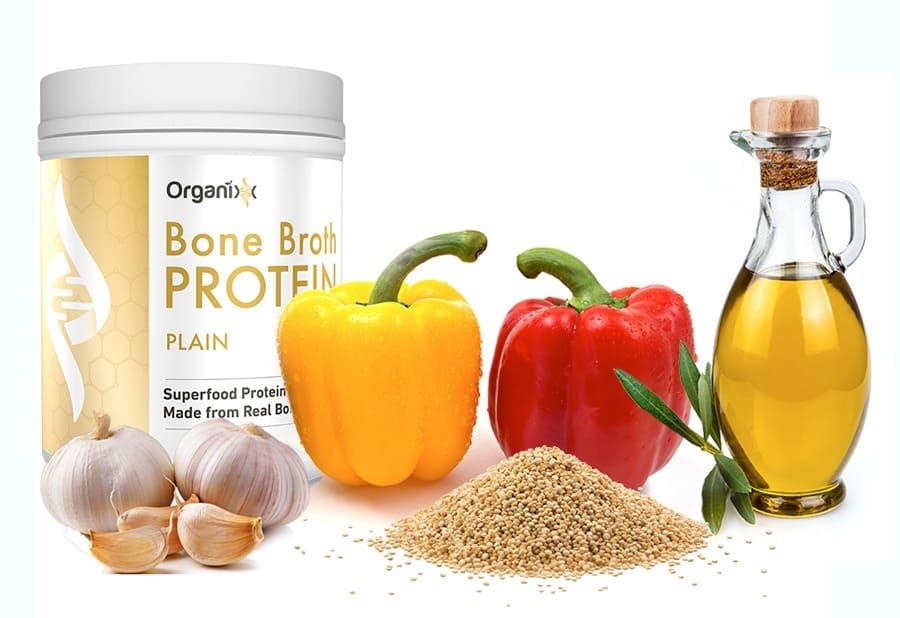 Quinoa-Stuffed Peppers Recipe