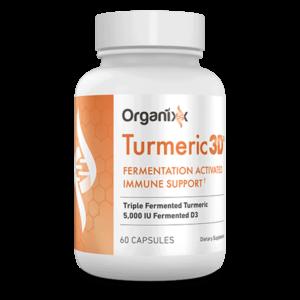 Organixx Turmeric 3D bottle